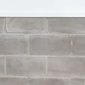 Zócalo muro interior bloque